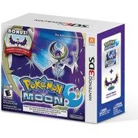 Pokemon Moon - Bonus Lunala Figure 3DS
