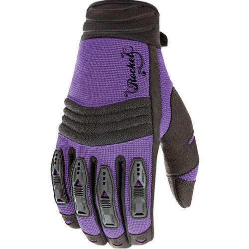 Joe Rocket Velocity Womens Gloves Purple/Black