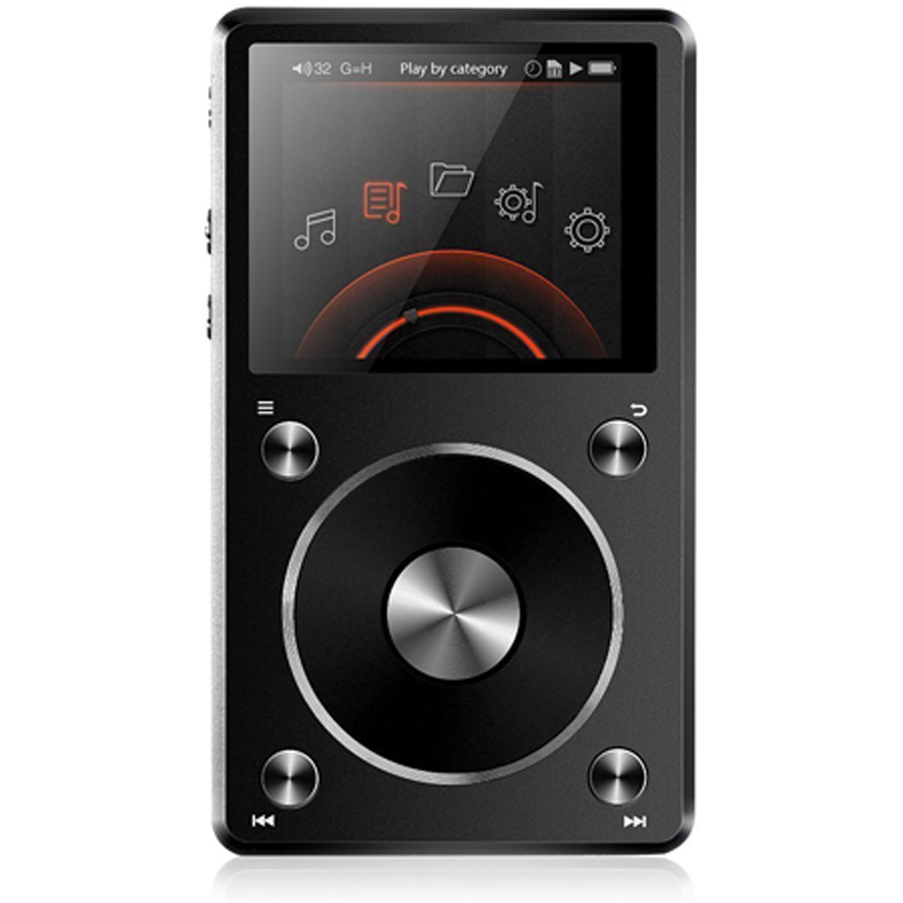 FiiO X5 (2nd Generation) High Resolution Music Player (Bl...