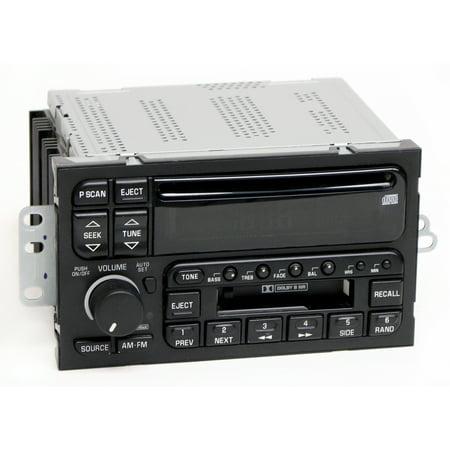 Buick LeSabre Century Regal 1996-2003 Radio AM FM CD Cassette Player PN 09373354 - Refurbished
