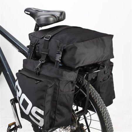 Bicycle Pannier Bags,Kipling ROSWHEEL 3-in-1 Bicycle Cycling Waterproof Travel Pannier Rear Seat Detachable Trunk Bag Luggage Pack
