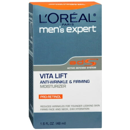 L'Oreal Men's Expert Vita Lift Anti-Wrinkle and Firming Moisturizer 1.60 oz (Pack of (Skin Care Experts Microcurrent Face Lift Reviews)