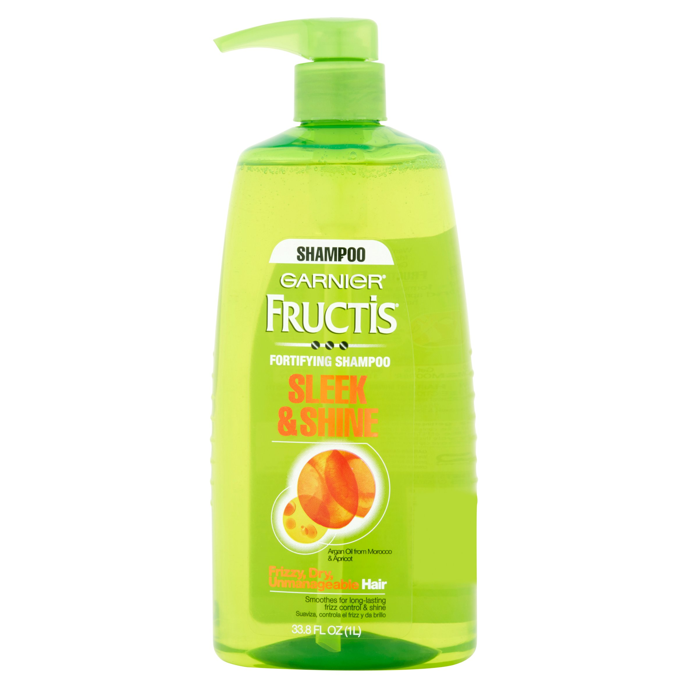 Garnier Fructis Sleek & Shine Fortifying Shampoo, 33.8 fl oz