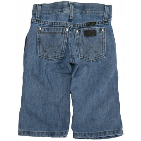 Wrangler Apparel Boys Retro Bootcut Relaxed Fit Jeans 1T Slim Ocean Water