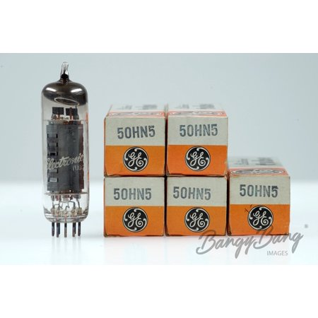 5 Vintage General Electric 50HN5 Noval Miniature Beam Power Amp. Tube - BangyBang