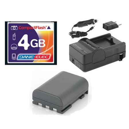 Canon Rebel XTi Digital Camera Accessory Kit includes: SDM-118 Charger, SDNB2LH Battery, T44655 Memory Card ()