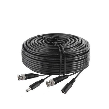 axGear 15ft 15 ft BNC CCTV Video Power Cable for CCD Security Camera DVR Wire Cord - image 1 de 2