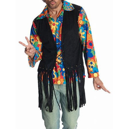 Mens Flower Power Hippie Halloween - Halloween Costume And Makeup