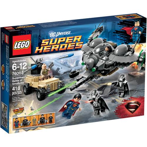 LEGO Super Heroes Superman: Battle of Smallville Play Set