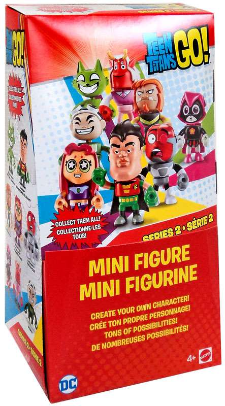 Series 2 Teen Titans Mystery Box [36 Packs] by