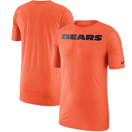 8afb125ca58 Chicago Bears Nike Sideline Player T-Shirt - Orange - Walmart.com
