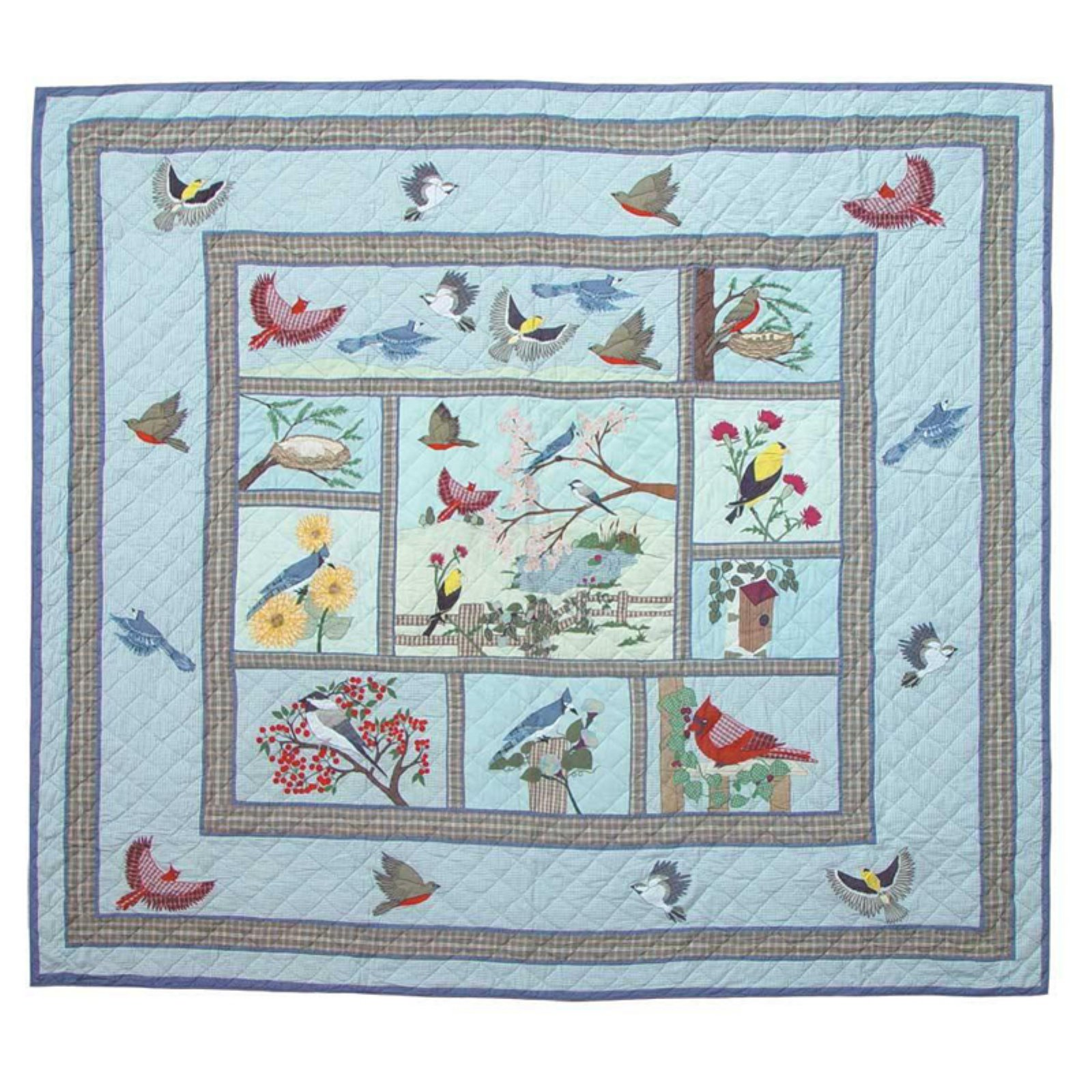 Songbirds Quilt by Patch Magic