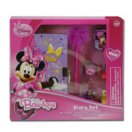 Minnie Mouse Bow-tique Diary Set