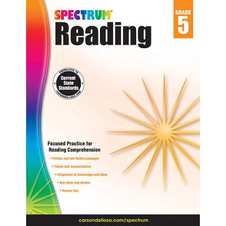 Spectrum Reading Workbook, Grade - Halloween Art Ideas For Grade 5