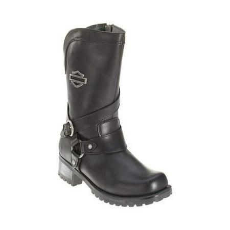 Women's Harley-Davidson Amber Harness Boot (Boots Harley Davidson Harness)