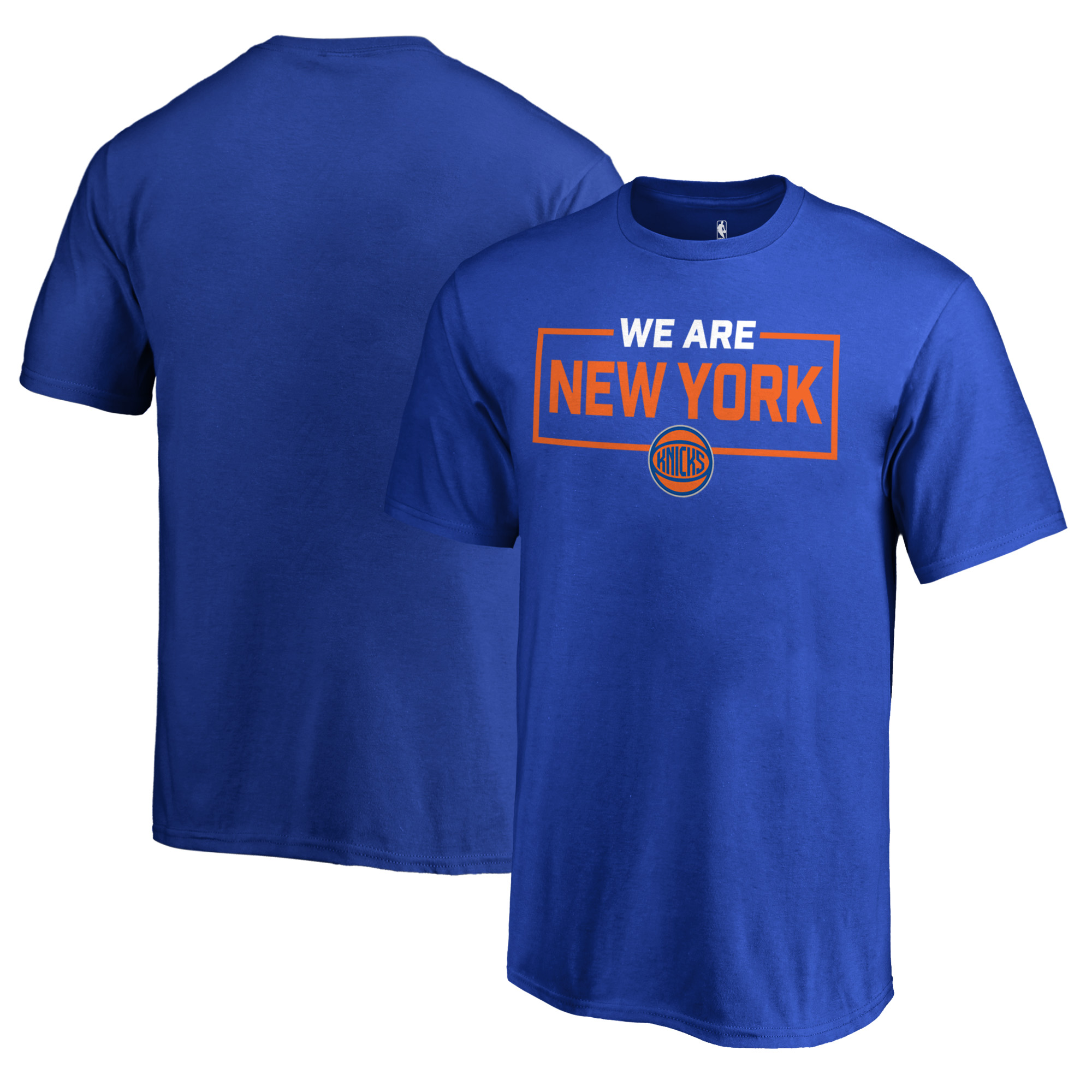 New York Knicks Fanatics Branded Youth We Are Iconic Collection T-Shirt - Blue