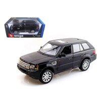 Bburago 12069bk Range Rover Sport Black 1-18 Diecast Car Model