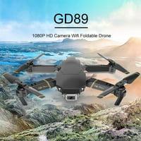 GD89 WIFI FPV 1080P HD Camera Altitude Hold Mode Foldable RC Drone RTF