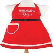 Manual Woodworkers and Weavers Terri Puma Holiday Apron, Team Nice