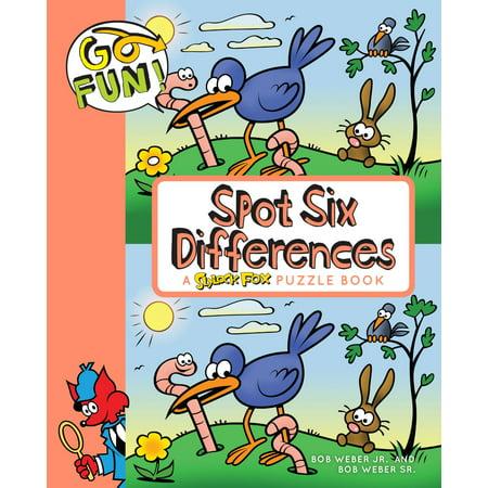Go Fun! Spot Six Differences - eBook