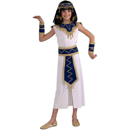 Egypt Princess Costume (Princess of the Pyramids Egyptian Child's Costume, Large, Princess of the Pyramids child costume contains dress with coordinating collar, belt, wristbands and headband By Forum)
