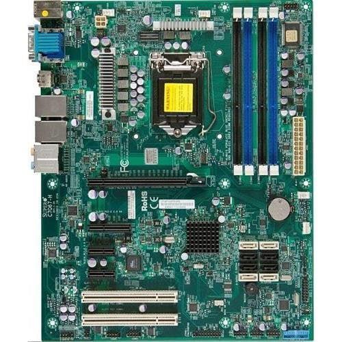 Super Micro Supermicro MBD-C7Q67-H-O LGA1155/ Intel Q67/ SATA33.0/ A&2GbE/ ATX Server Motherboard (Super MicroMBD-C7