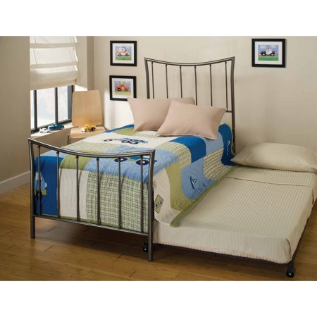 Hillsdale Edgewood Twin Spindle Bed With Trundle In