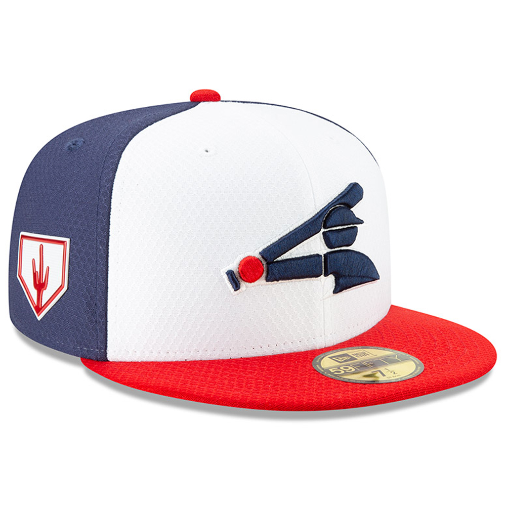 Chicago White Sox New Era 2019 Spring Training 59FIFTY Fitted Hat - White/Red