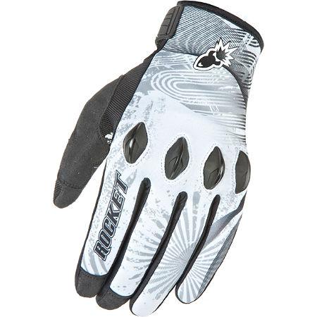 Joe Rocket Rocket Nation 2.0 Gloves White/Black