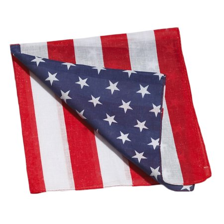 American Red White and Blue Flag Bandanna](Red White And Blue Flag)