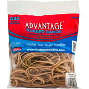 """Size #32, (3"""" x 1/8"""") Advantage Rubber Bands 2632A, 2 oz Bag of Approx. 88 Bands, Natural"""