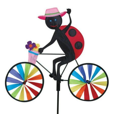Premier Designs 20 in. Ladybug Bicycle Spinner