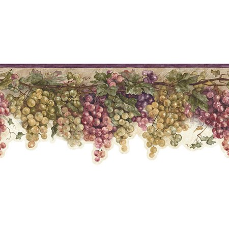 Grapes And Vines Kitchen Decor