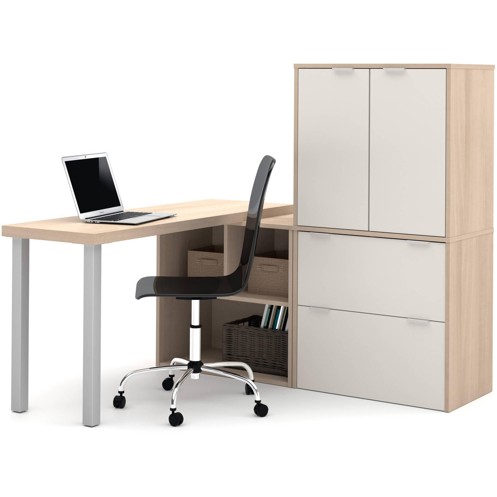 Bestar i3 by Bestar L-Shaped Desk, Multiple Colors