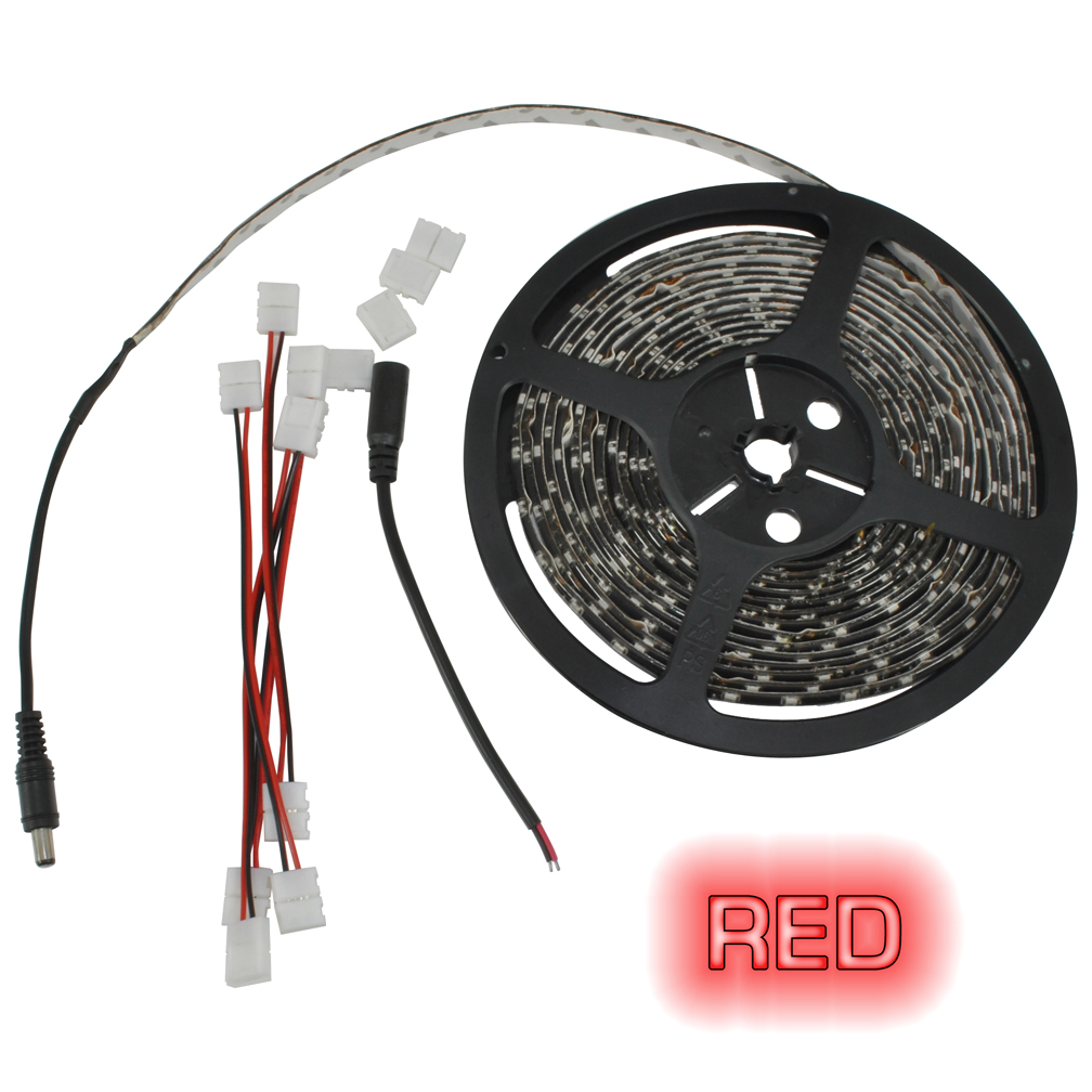 Pipedream 16ft Roll Flexible LED Strip Red