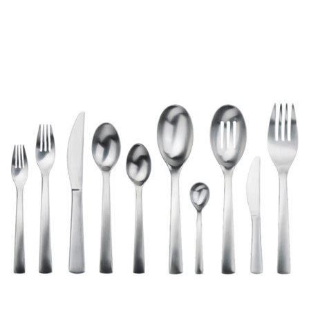 Gourmet settings carry on 45 piece flatware set - Gourmet settings silverware ...