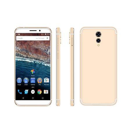 "Indigi® GSM Unlocked 4G LTE 5.6"" Smartphone (Quad-Core @ 1.2GHz + Android 6.0 Marshmallow + 2SIM + Fingerprint Scanner) - image 1 de 5"