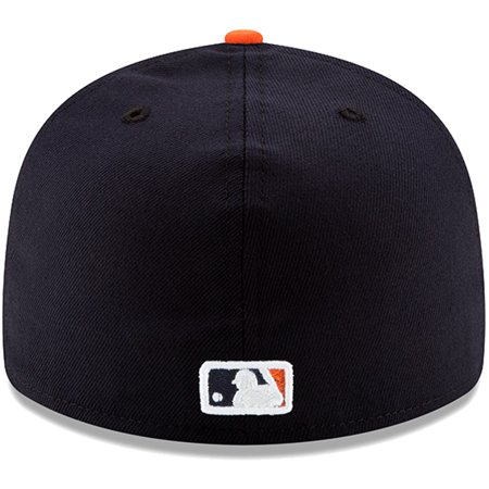 new arrival 351fe daa40 Detroit Tigers New Era Road MLB 150th Anniversary Authentic Collection Low  Profile 59FIFTY Fitted Hat - Navy - Walmart.com