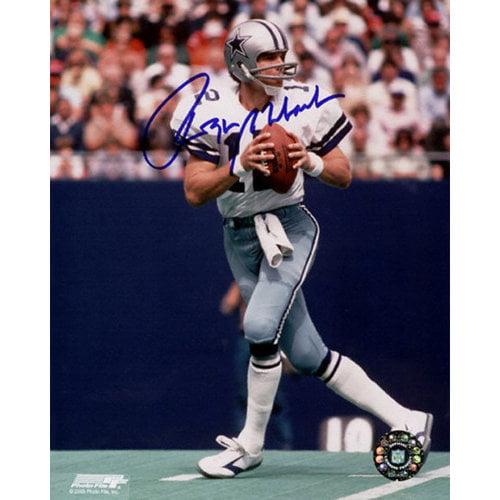 NFL - Roger Staubach Dallas Cowboys - Action1 - 8x10 Autographed Photograph