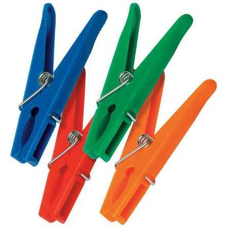 HONEY-CAN-DO DRY-01390 Clothespins, Plastic, Pk 24