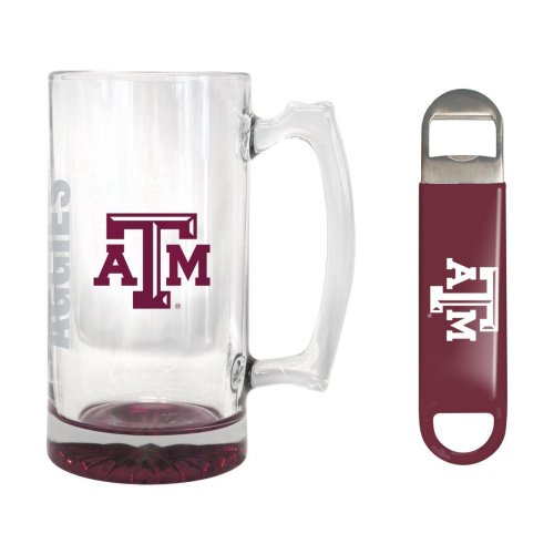Texas A&M Aggies 25 oz. Beer Mug Gift Set