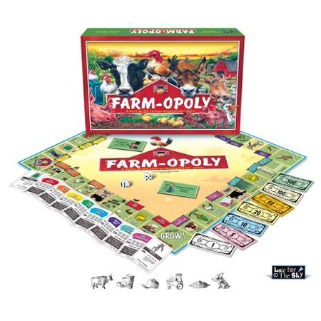 - Farm-opoly Board Game