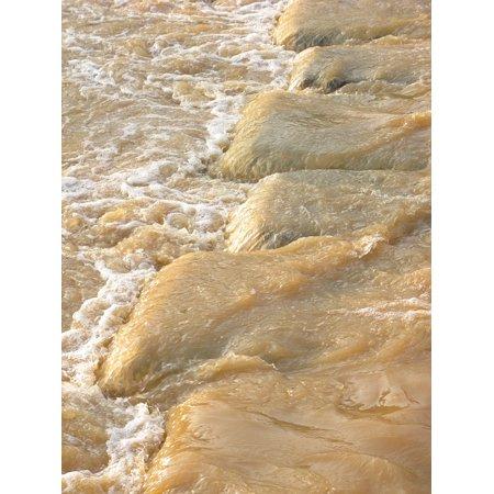 Laminated Poster Water Mud Rivers Poster Print 24 X 36