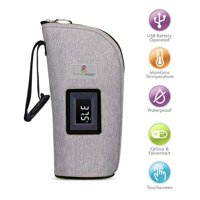 Primo Passi - Smart Bottle Warmer (Grey Melange)