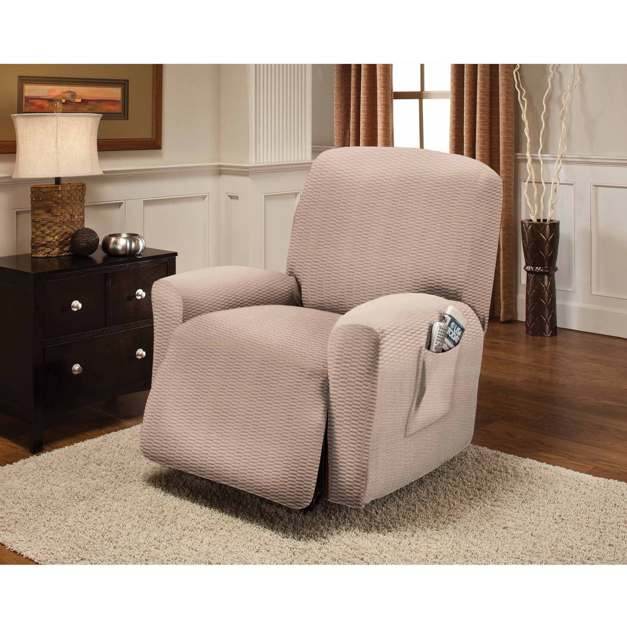 Stretch Sensations Raise The Bar Recliner Slipcover Walmart