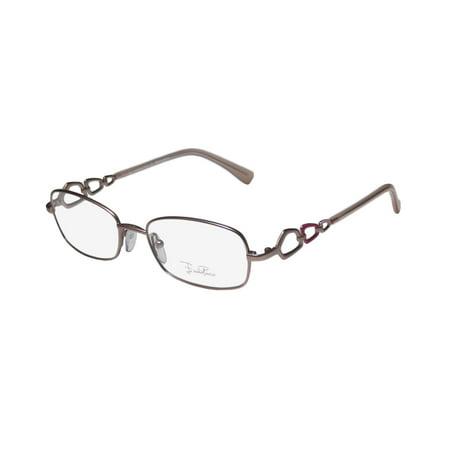 839f016edd6 New Emilio Pucci 2124 Womens Ladies Designer Full-Rim Matte Pink Popular  Design From Italy Frame Demo Lenses 51-17-135 Eyeglasses Spectacles -  Walmart.com