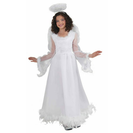 Fluttery Angel Girl's Costume