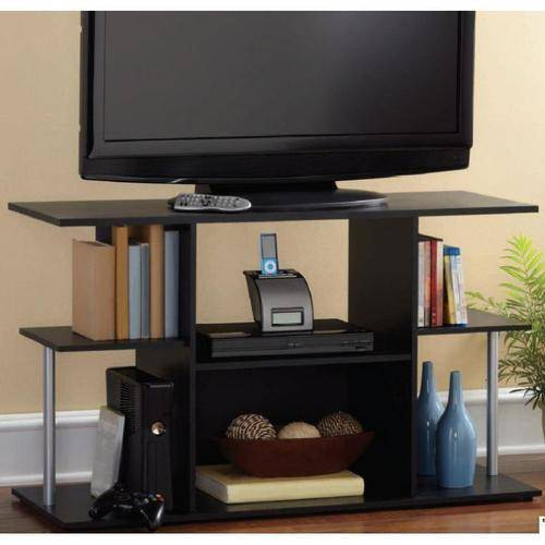 Mainstays Black TV Stand for TVs up to 42""