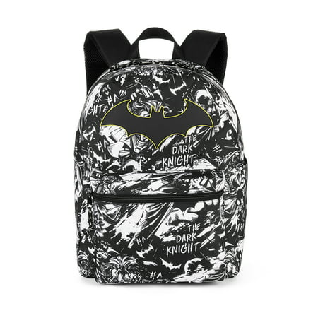 "DC Comics Batman Comic Print 16"" Backpack"