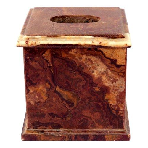 Nature Home Decor Multi Onyx Tissue Box Cover